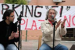 Valdebernardo vuelve a decir ¡no al parking en la plaza de Juan Benet!