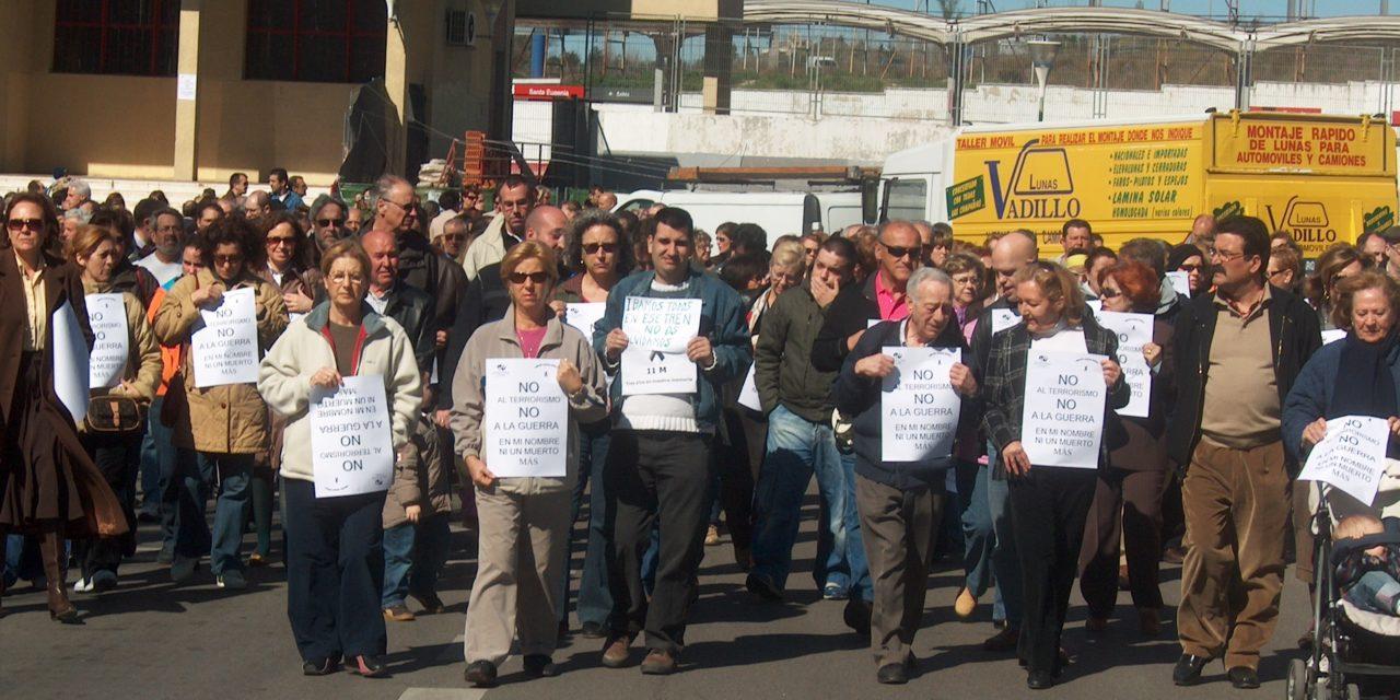 Vallecas rinde homenaje a las víctimas del 11M
