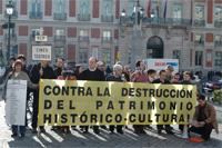 Varios colectivos piden a Aguirre que conserve el patrimonio histórico cultural de la Comunidad