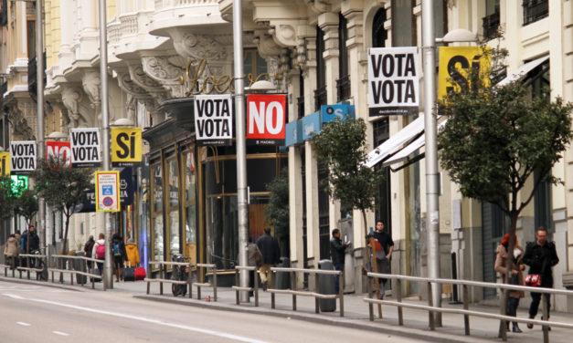 Vota Sí por un Madrid 100% sostenible y un billete único para el transporte público