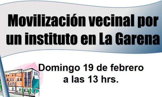 El barrio alcalaíno de La Garena reclama de nuevo su ansiado instituto