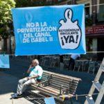 ¡Objetivo cumplido! La Plataforma Contra la Privatización del Canal consigue en solo una semana los fondos para pagar las costas judiciales de su recurso