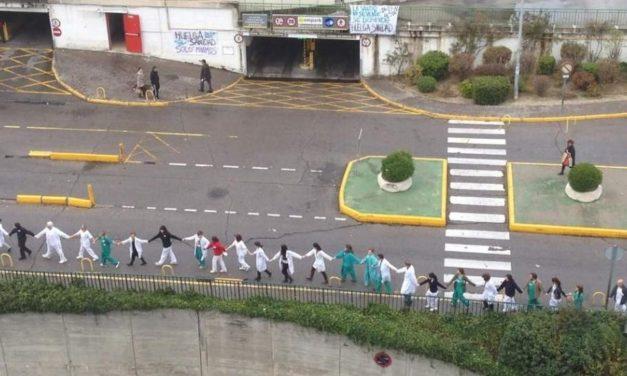 La 54ª Marea Blanca abrazará el Ramón y Cajal, el hospital con la mayor lista de espera de la Comunidad