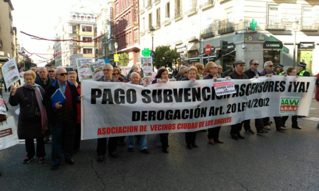 La FRAVM pide a Ciudadanos que vote a favor del pago a las familias de las deudas por las ayudas a la rehabilitación