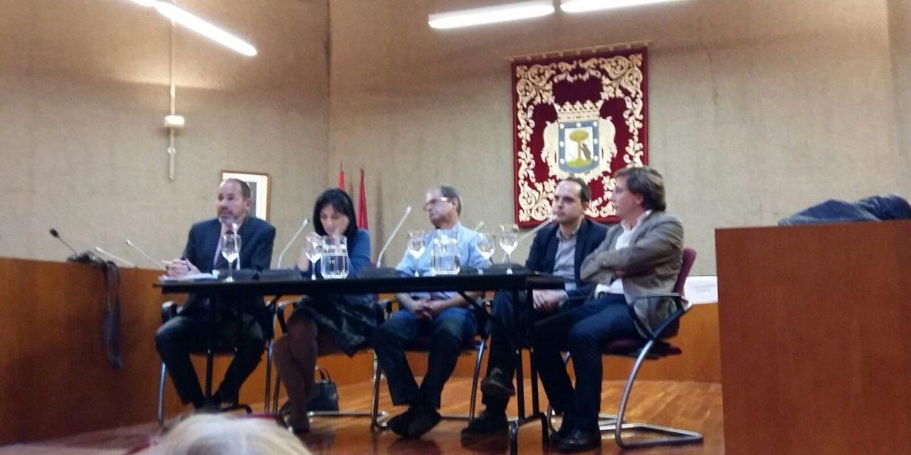 La Plataforma Zona Norte reúne a los cuatro partidos del Ayuntamiento en un acto sobre la Operación Chamartín