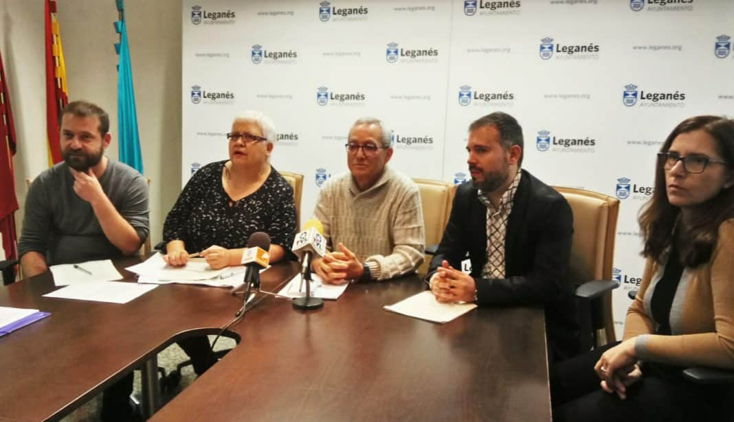 Asociaciones vecinales y partidos de Leganés critican al Gobierno municipal por el bloqueo de los presupuestos municipales