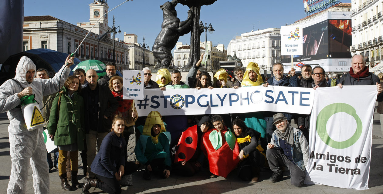 13M: la ciudadanía se moviliza en toda Europa contra el glifosato