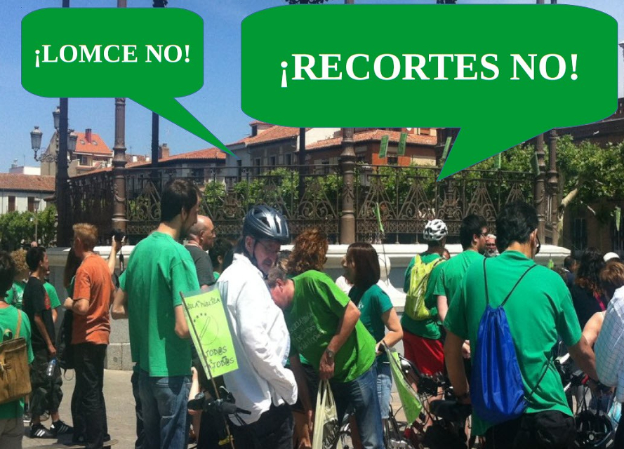 Alcalá de Henares: IV Marcha del Lápiz Verde