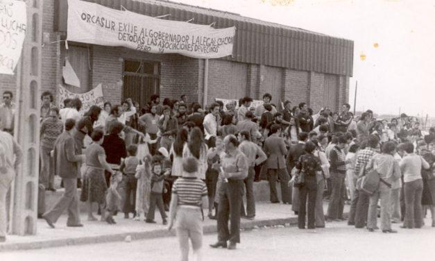 AV El Organillo, en el 40 aniversario de su legalización: a nuestros abogados, compañeros y amigos del movimiento vecinal