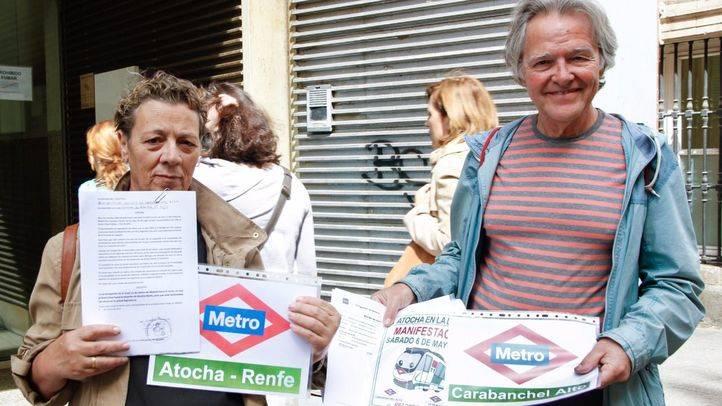 El tejido social de Carabanchel Alto, en marcha por la prolongación de la línea 11 de Metro hasta Atocha-Renfe