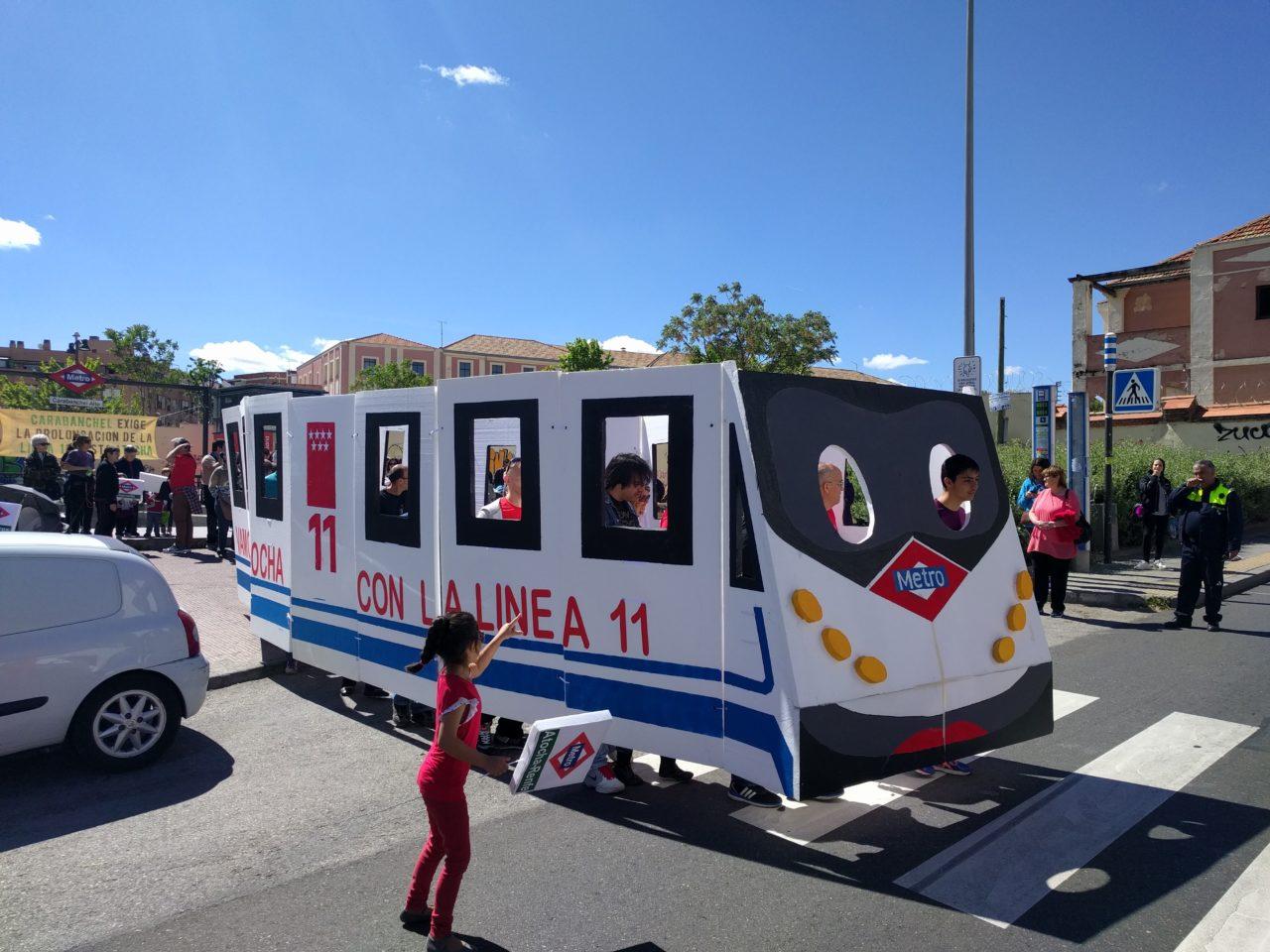 Línea 11 de Metro: la de las promesas incumplidas