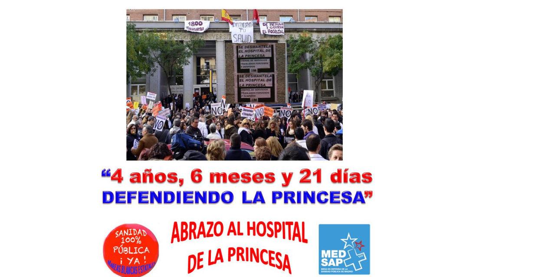 La 56ª Marea Blanca rodeará La Princesa en honor a la lucha de su plataforma de usuarios y pacientes