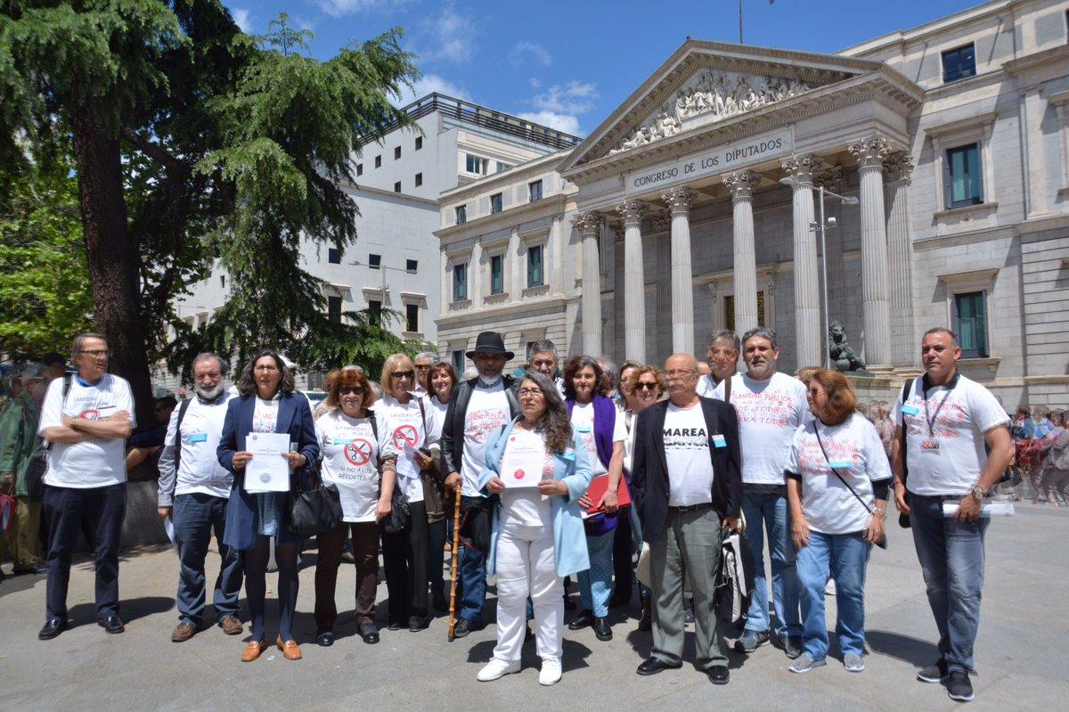 38 demandas ciudadanas para frenar el deterioro de la sanidad pública en todo el Estado