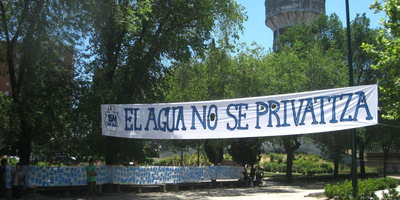 La Red Agua Pública reclama la retirada de una disposición de los presupuestos que impide la remunicipalización de los servicios públicos