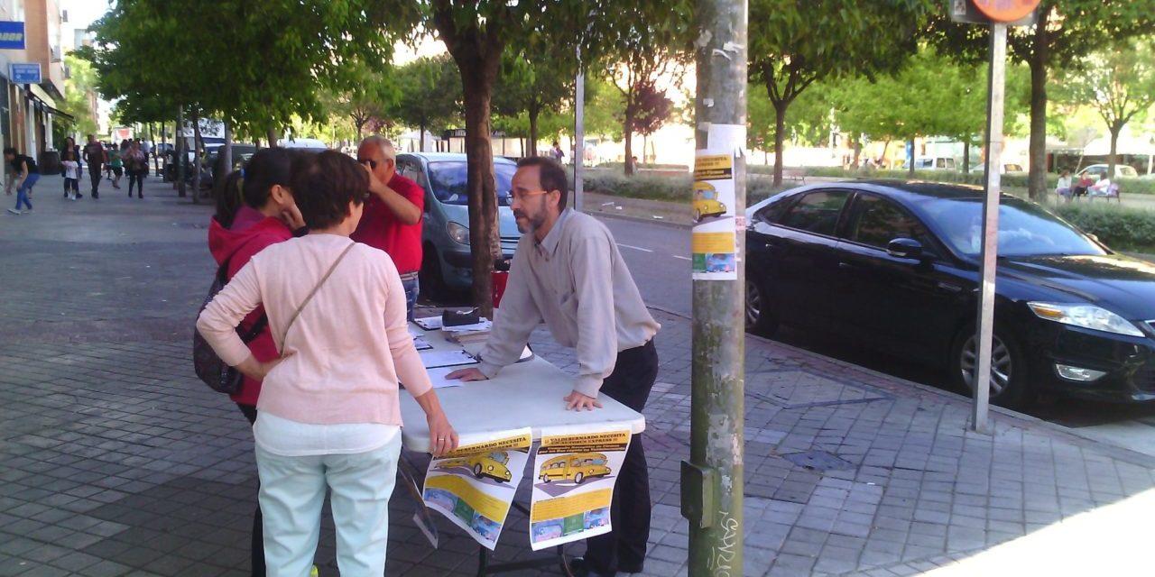 5.599 personas piden al Consorcio de Transportes un bus rápido para Valdebernardo