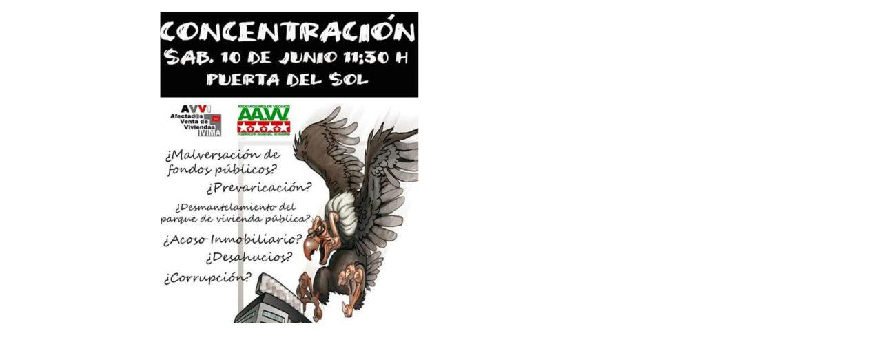 """Nueva protesta de los afectados del IVIMA: """"No nos vamos a ir"""""""