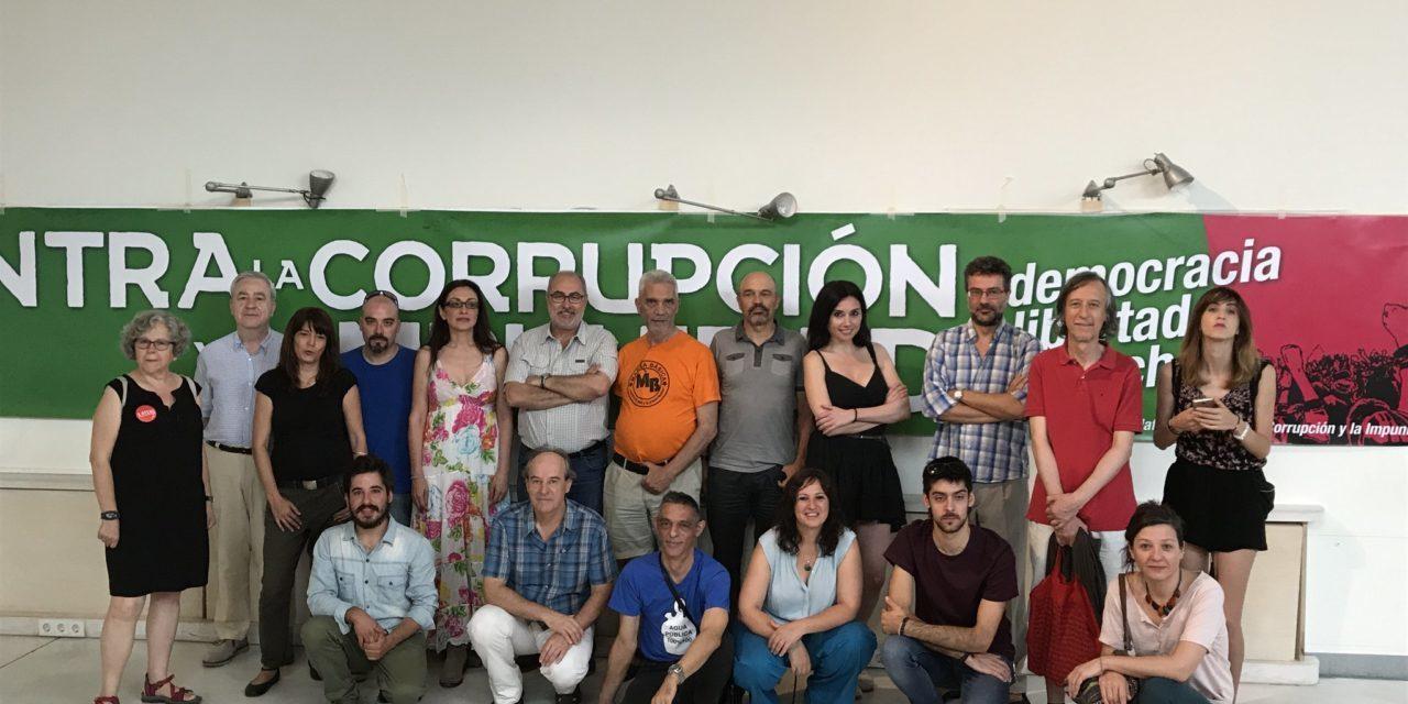 24-J: Madrid sale a la calle contra la corrupción y la impunidad