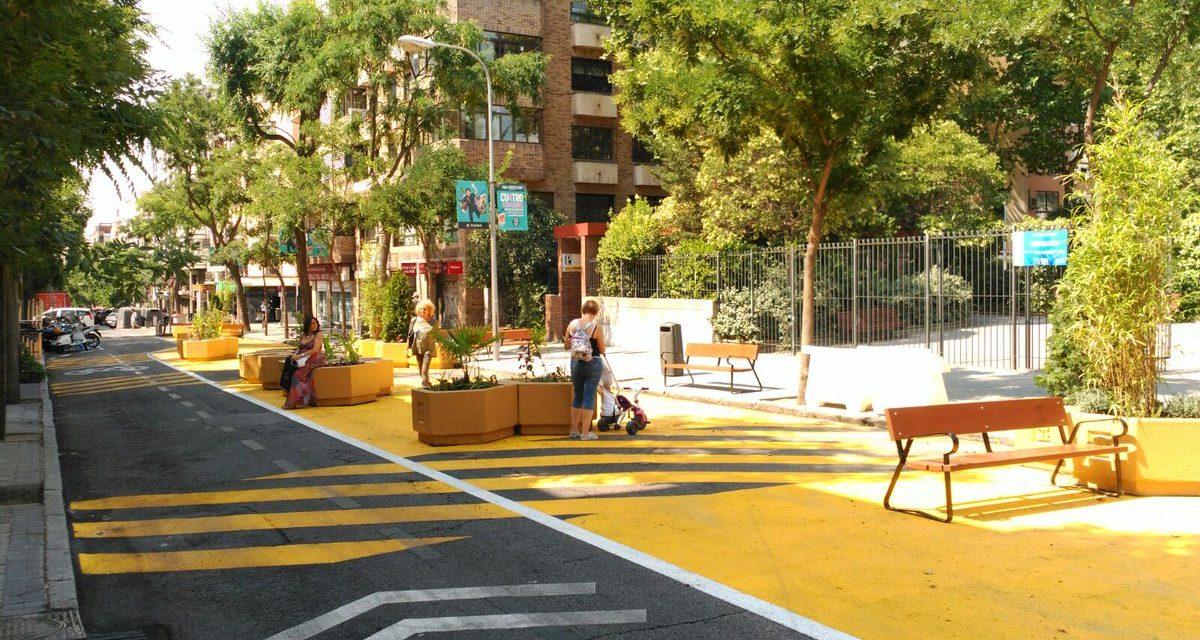El Colectivo Corazón Verde Chamberí saluda el proyecto piloto de la calle Galileo