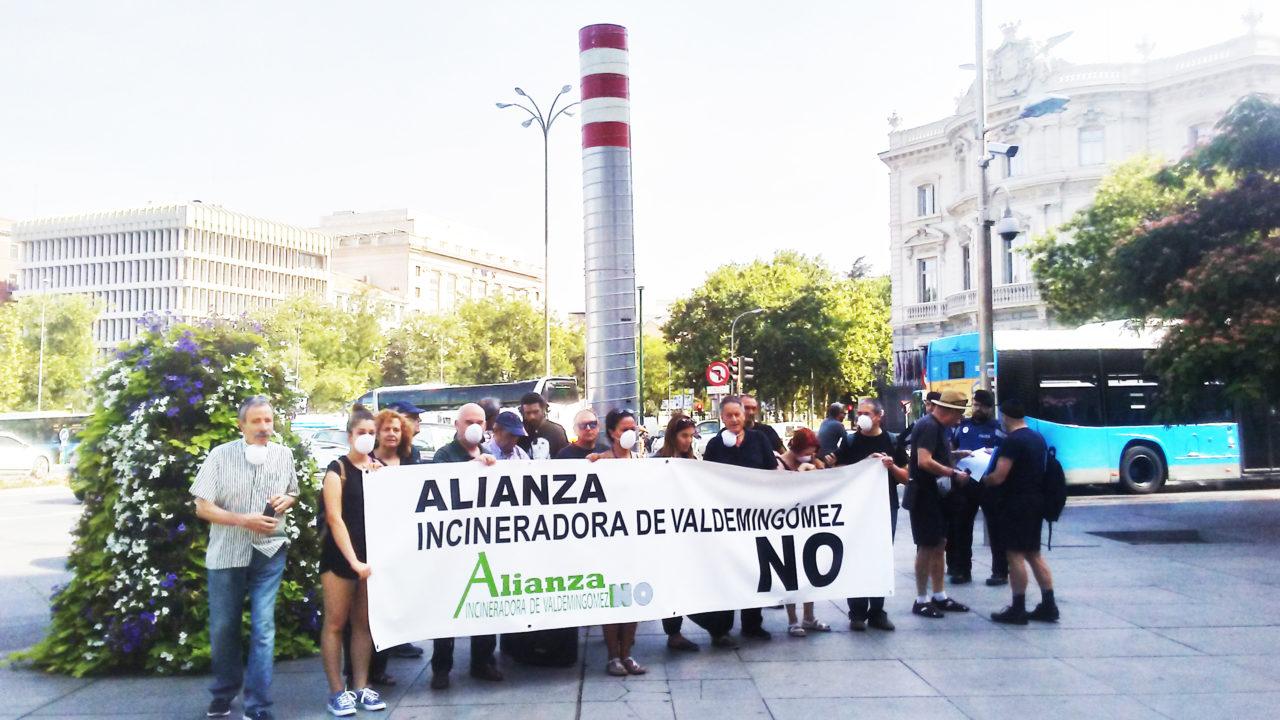 La Alianza Incineradora de Valdemingómez No reclama acabar con la quema de residuos en Madrid