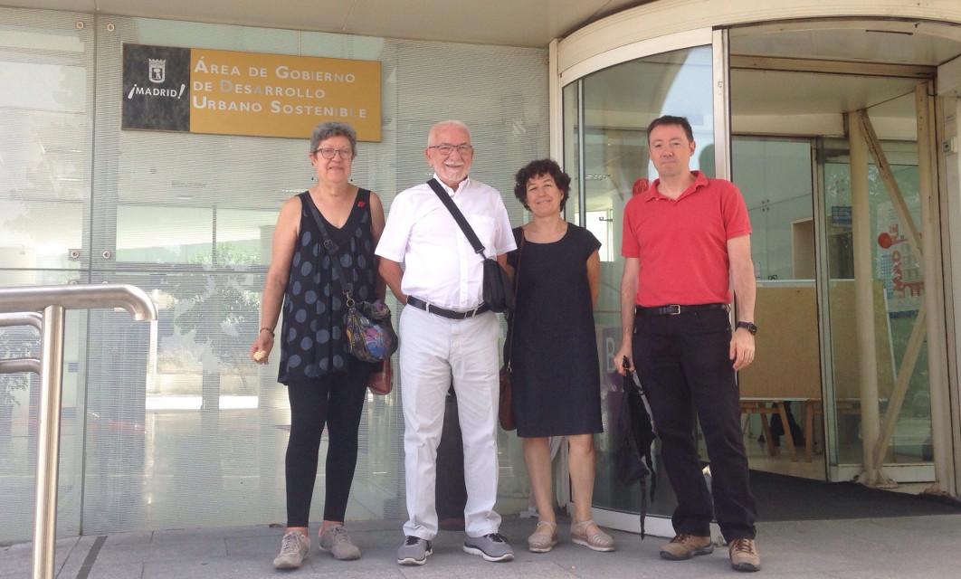 Nueva victoria vecinal: el Ayuntamiento y ADIF se comprometen a destinar los terrenos baldíos de Delicias a dotaciones públicas