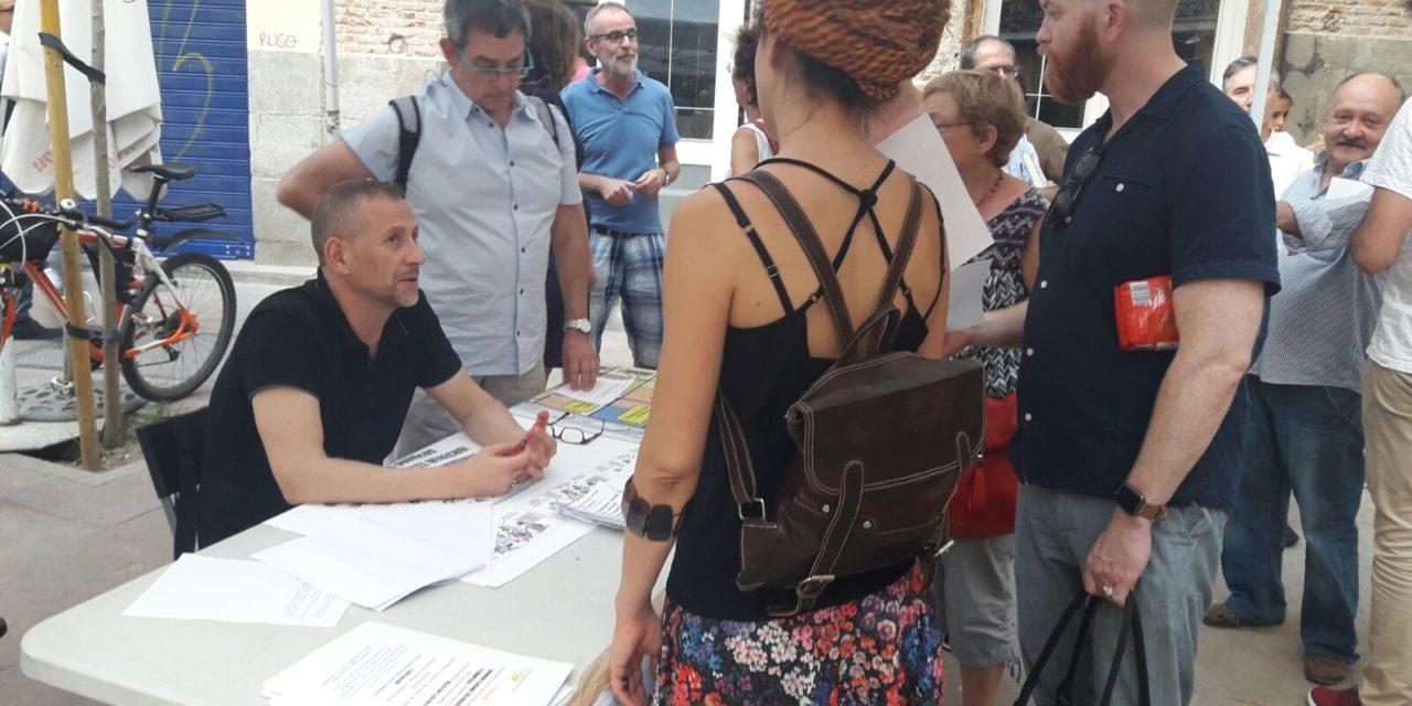 La asociación vecinal de Las Letras inicia una campaña contra la turistificación del barrio