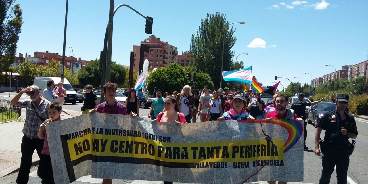 """Tres marchas """"por la visibilización de los colectivos LGTBIQ+ en los barrios"""" precederán al desfile del MADO 2018"""