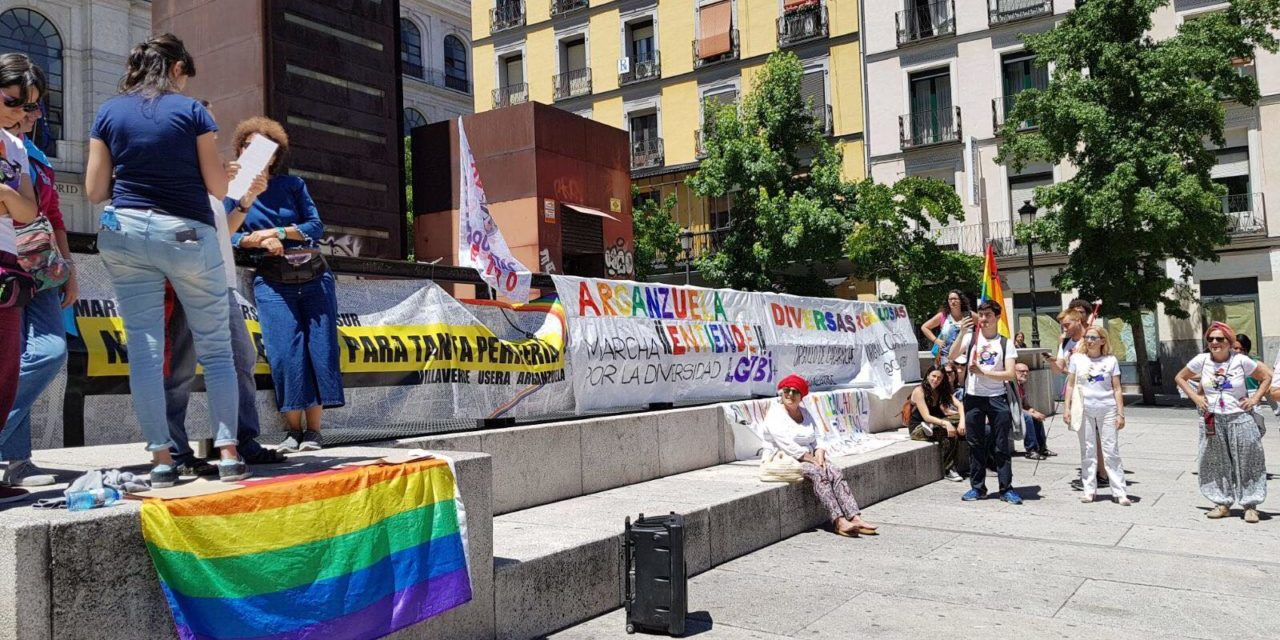 Imágenes de las marchas de Orgullo de Periferia, una semilla que prende en los barrios