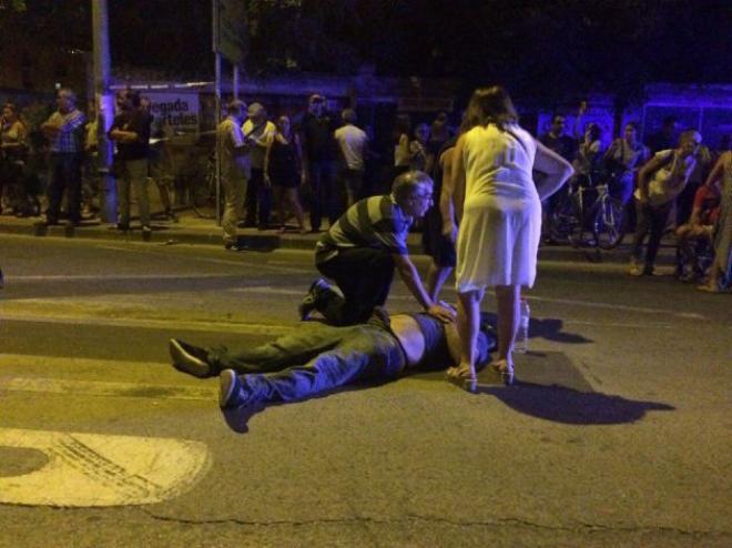 La CEAV condena la represión policial contra los manifestantes que piden el soterramiento de las vías del AVE en Murcia