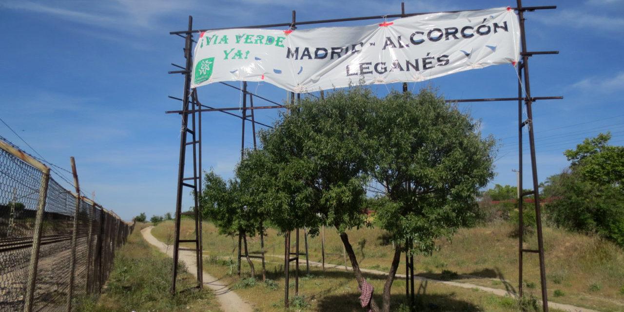 A pie o en bici para reclamar la Vía Verde Leganés-Alcorcón-Madrid