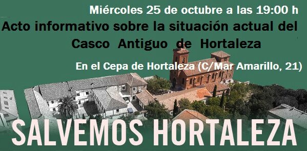 Hortaleza acude a los tribunales para proteger el patrimonio de su plaza centenaria