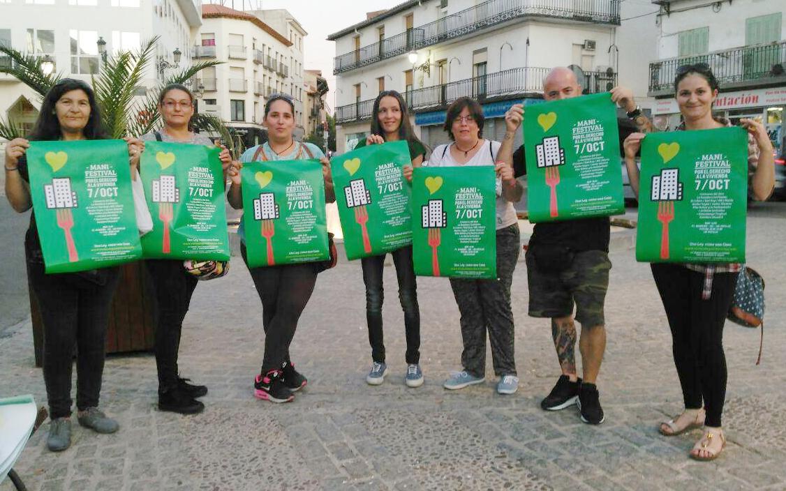 El 7 de octubre, todas a la calle a defender el derecho a la vivienda