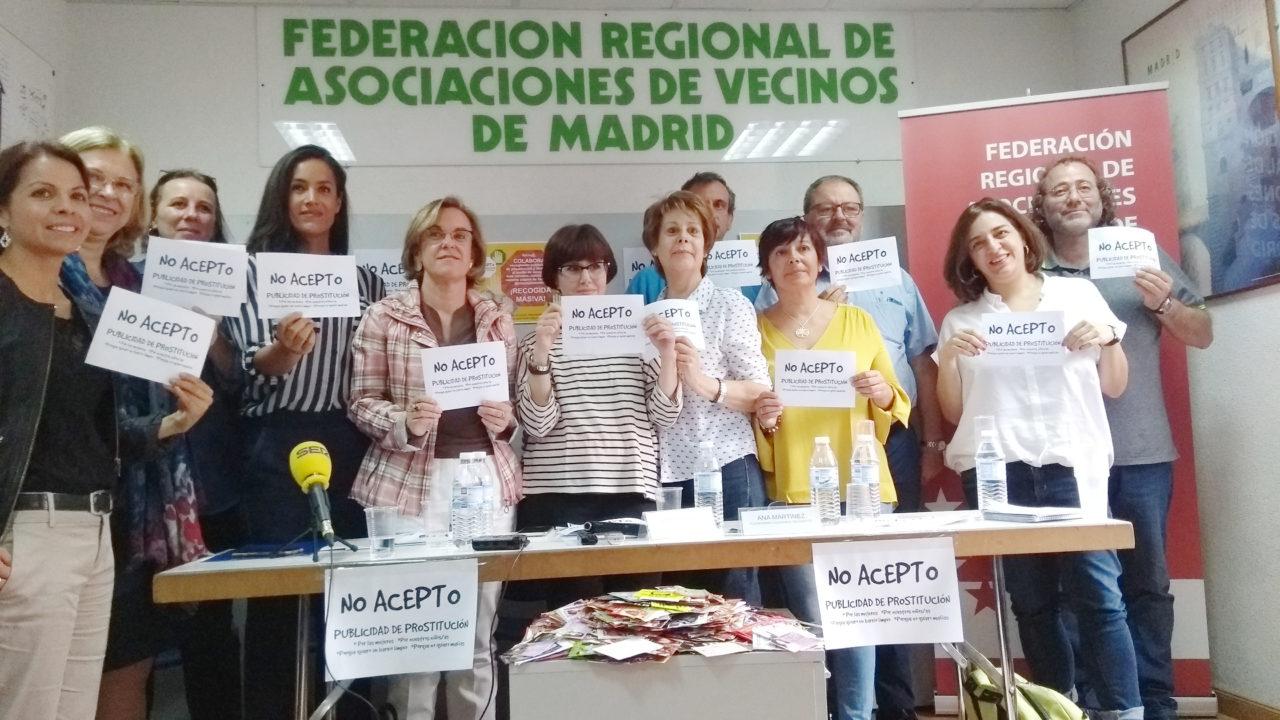 La campaña No Acepto cosecha el apoyo del Ayuntamiento de Madrid y de todos los grupos políticos