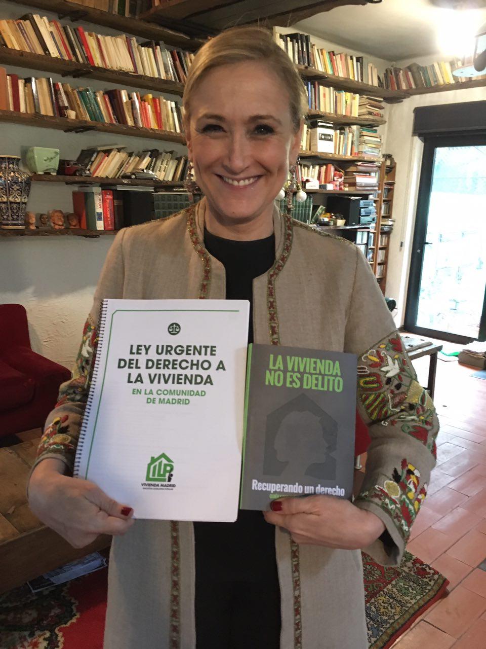 Cristina Cifuentes ama la ILP