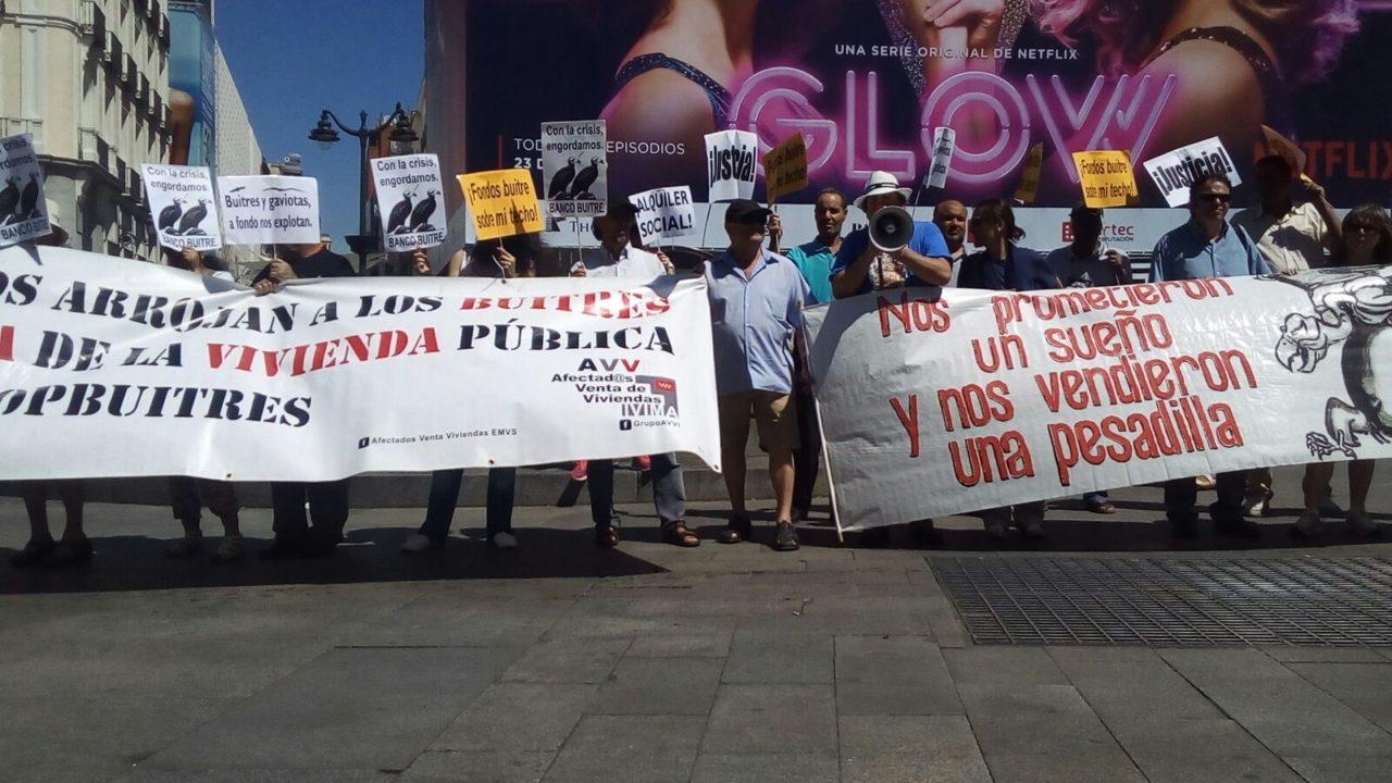 Las familias afectadas por la venta de viviendas del IVIMA cumplen cuatro años de calvario