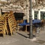 La saturación de terrazas también causa problemas en Leganés