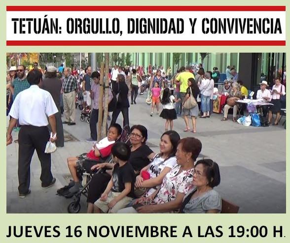 La vecindad de Tetuán se mueve en defensa de la dignidad del distrito