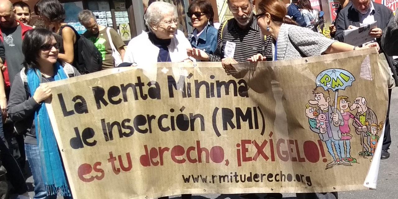 Balance de la gestión de la RMI en 2017: Cifuentes suspende, las familias sufren
