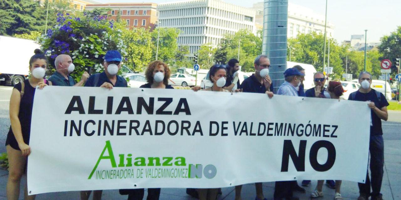 Firma para que el Ayuntamiento de Madrid cierre definitivamente la incineradora de Valdemingómez