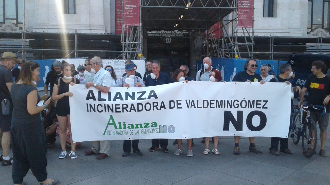 Nuevas acciones para reclamar el cierre definitivo de la incineradora de Valdemingómez