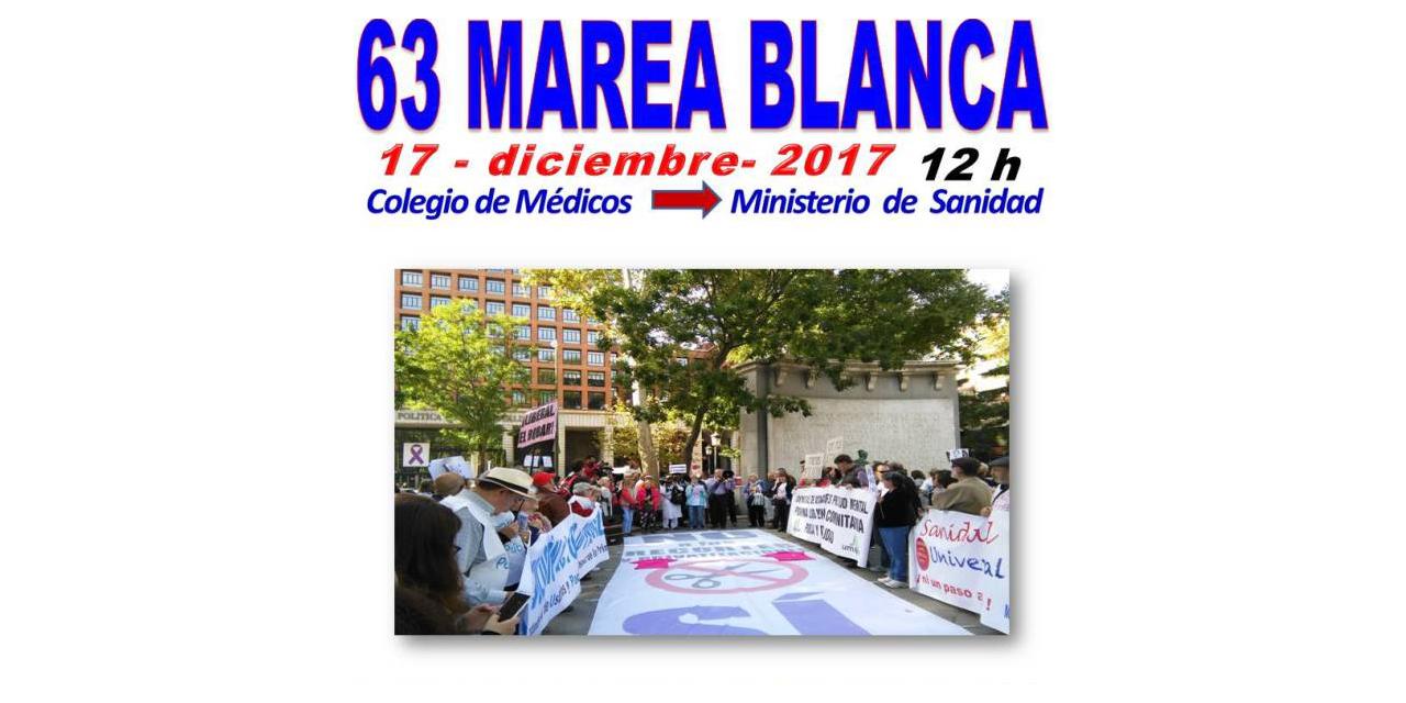 """""""Doce meses, una causa"""": la Marea Blanca vuelve al centro de la capital"""