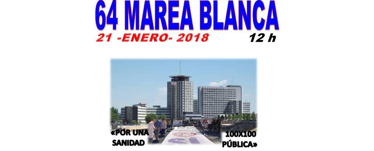 Un abrazo colectivo para defender el hospital de La Paz