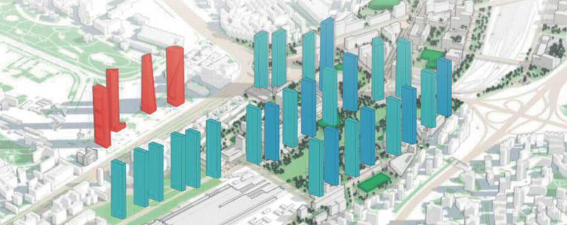 3-F: Chamartín, verde y sin torres
