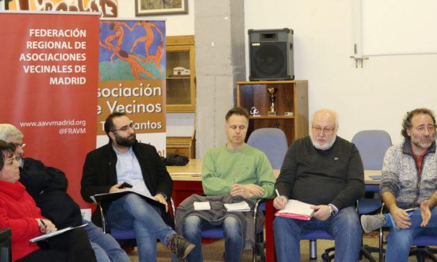 La FRAVM celebra la reunión mensual de su junta directiva en Tres Cantos