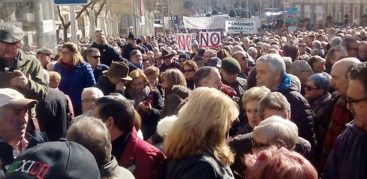 El 1 de marzo, los pensionistas cantarán (de nuevo) las cuarenta a Montoro