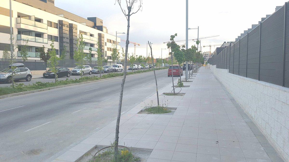 """AV de Tempranales (San Sebastián de los Reyes): """"No se hace nada en el barrio"""""""