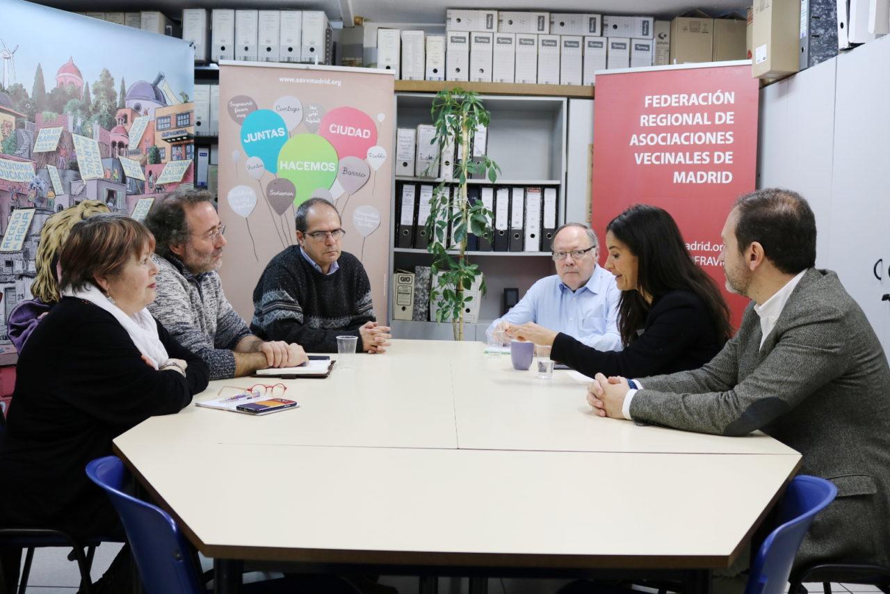 Ciudadanos presenta a la dirección de la FRAVM su propuesta sobre ocupaciones mafiosas