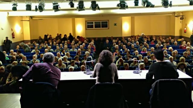 Acto pensiones Zarzaquemada (Leganés)