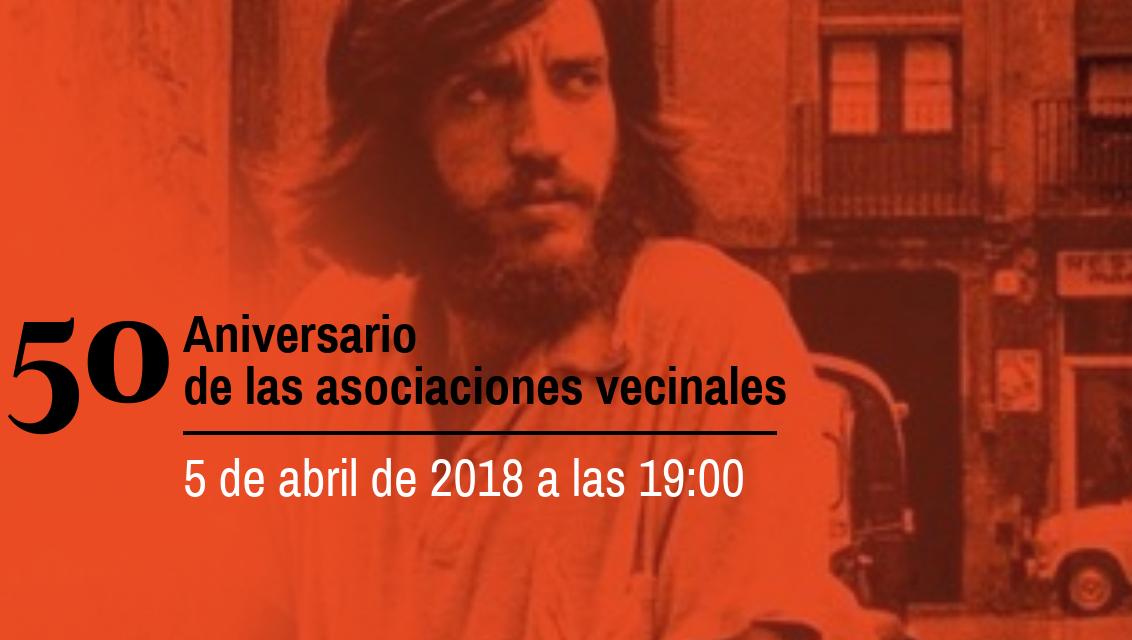 Encuentro de lujo con Luis Pastor en el 50 aniversario del movimiento vecinal