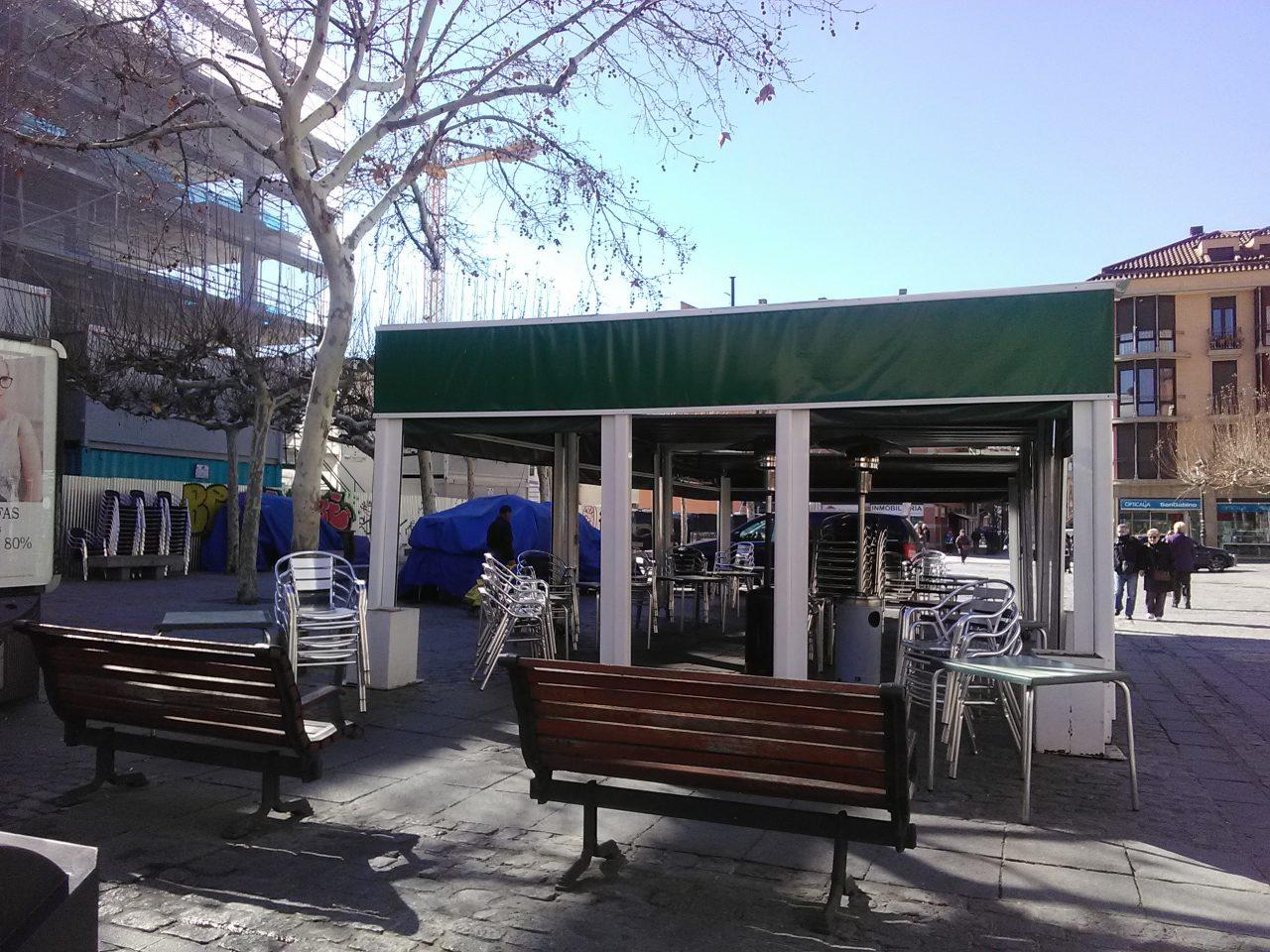 La Federación de AAVV de Leganés denuncia al Defensor del Pueblo las obras en la plaza de la Fuente Honda