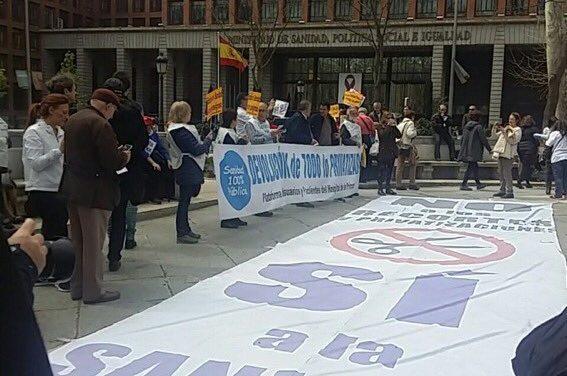 70 meses y más de 2.000 días consecutivos de pelea contra la privatización sanitaria